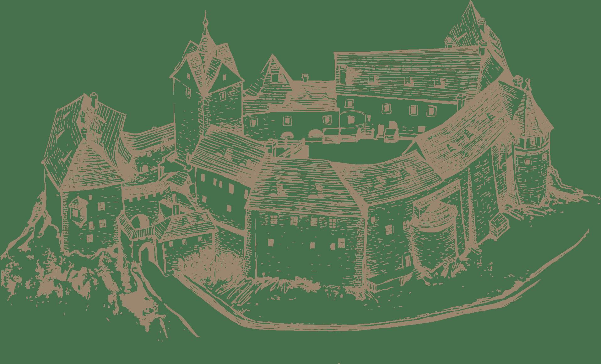 Guide to Loket Castle.