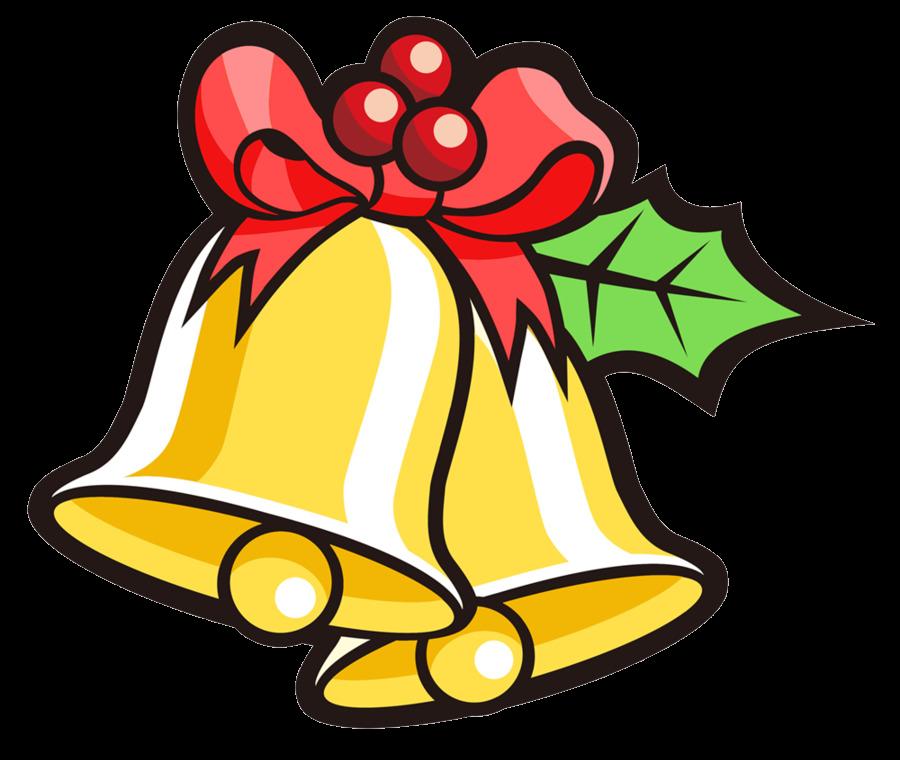 Christmas Jingle Bell Clip Art Cartoon Cliparts Free Transparent Png.