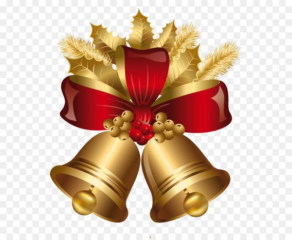 Christmas decoration Jingle bell Gold.