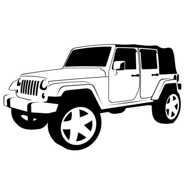 Jip Car Clipart.