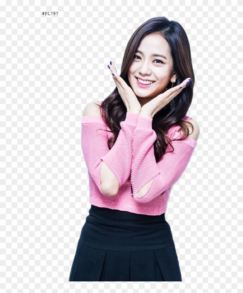 Jisoo Black Pink Png.