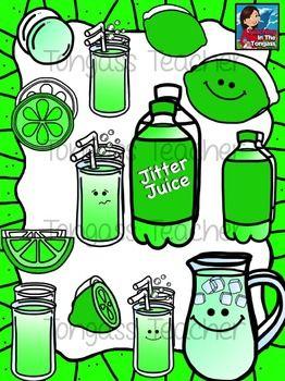 Jitter juice clipart.