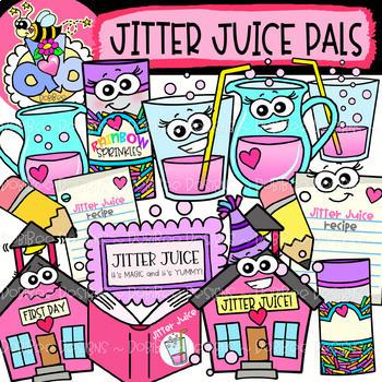 HUGE FREEBIE! Jitter Juice Pals: Back.