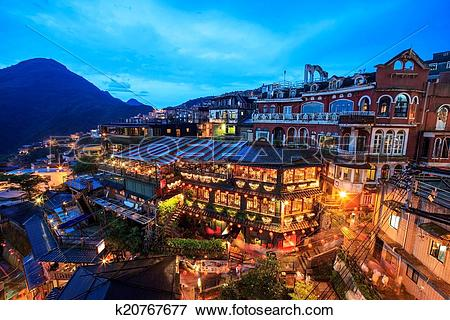 Picture of Jiufen, Taiwan k20767677.