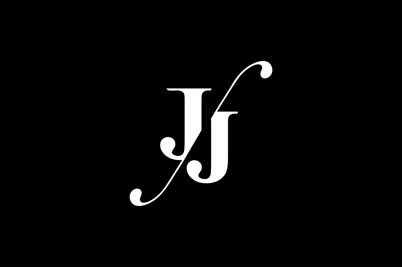 JJ Monogram Logo Design By Vectorseller.