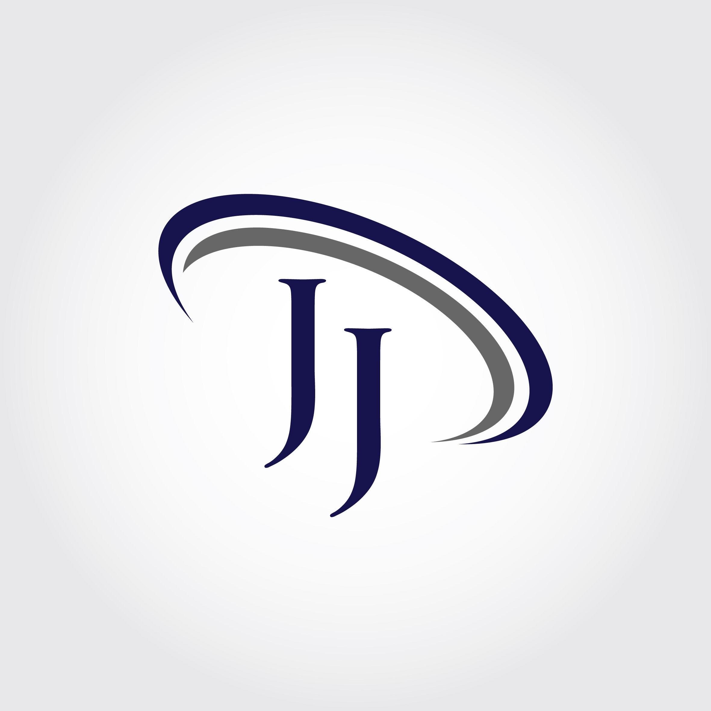 Monogram JJ Logo Design By Vectorseller.