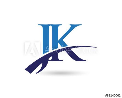 JK Logo Letter Swoosh.
