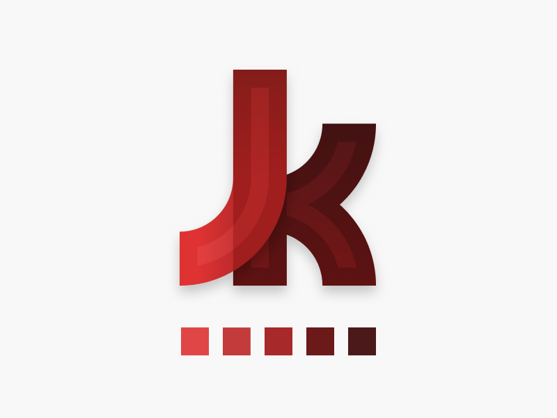 Jk Logo by vukashin on Dribbble.