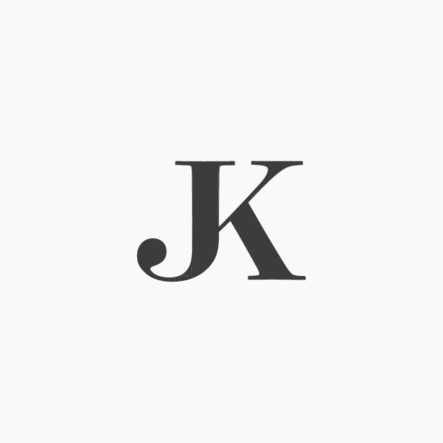 Design by ottocliman.it JK, Monogram, logo, design, graphic, letter.