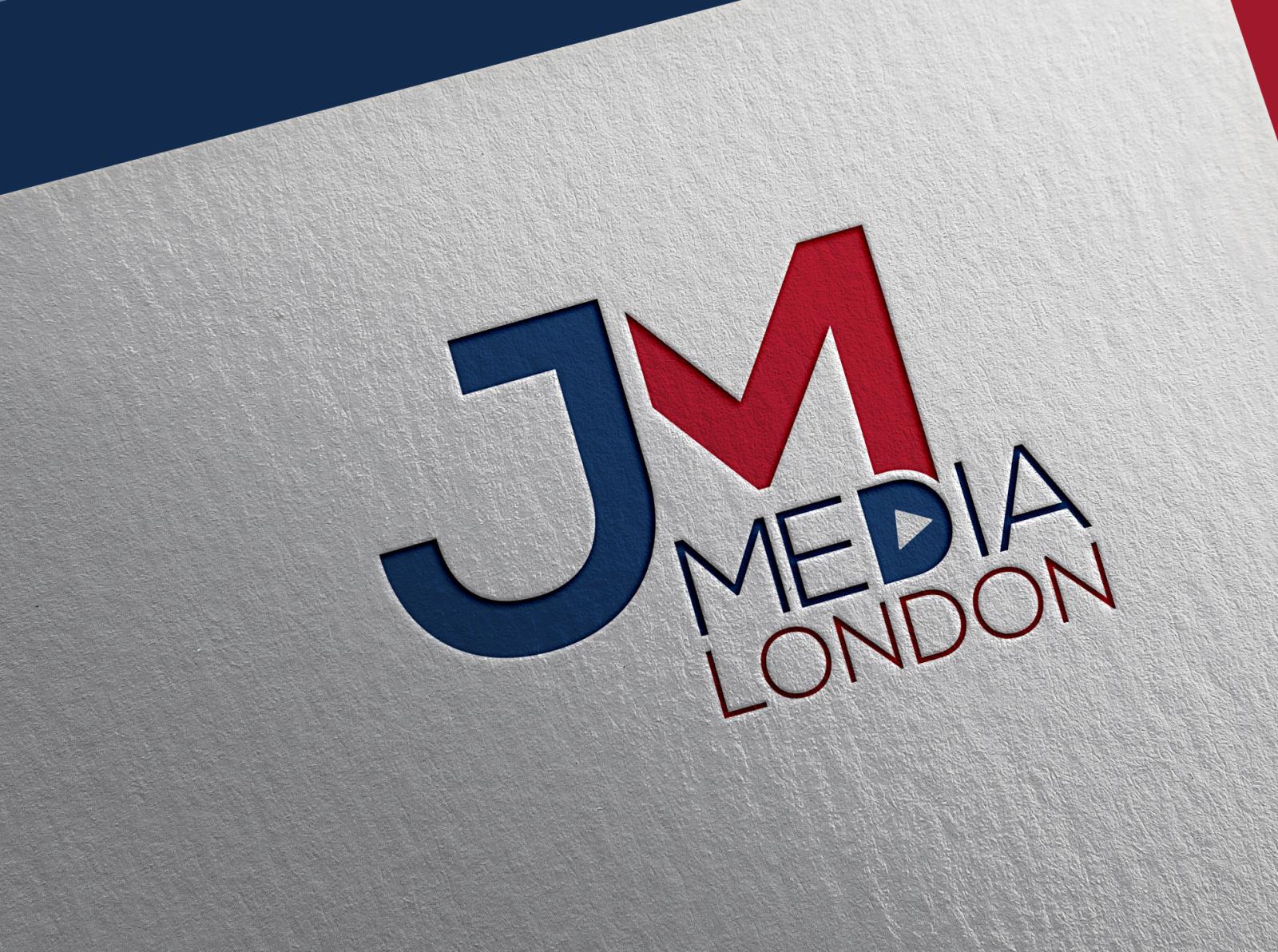 jm media london logo by Ebad Bin Siddik on Dribbble.