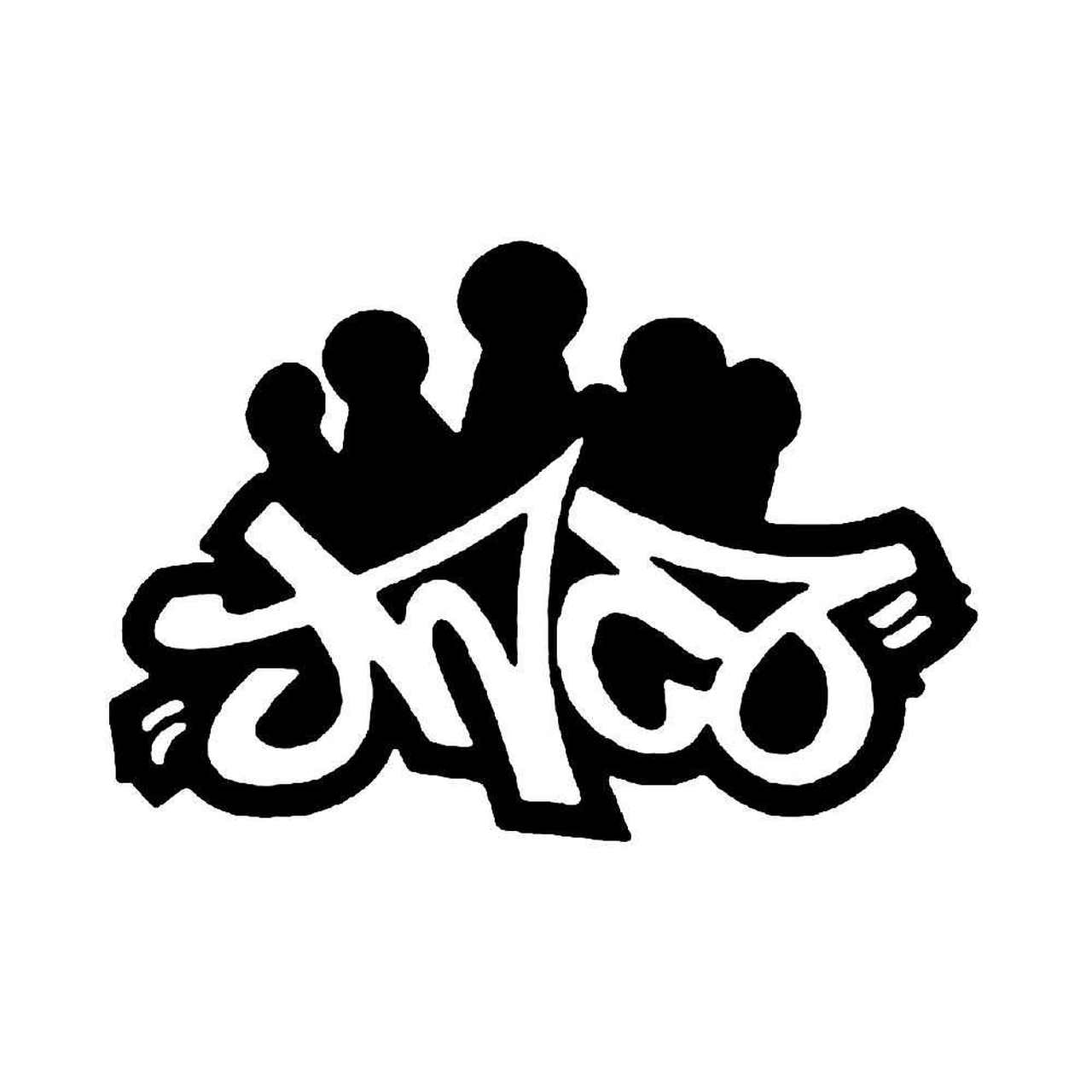 JNCO Jeans SkateBoard Vinyl Decal.