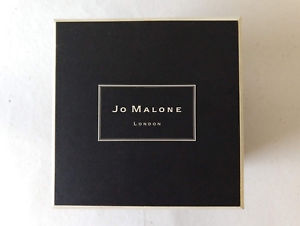"""Details about JO MALONE LONDON Black with Cream Logo EMPTY Box  (5""""x5""""x4.75"""") with Cream Ribbon."""