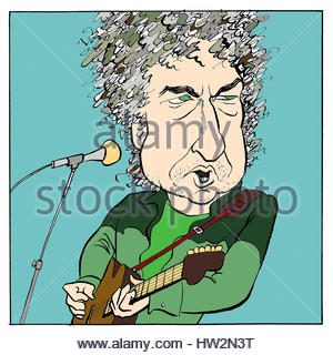 Bob Dylan American Folk Singer arriving at Heathrow Airport with.