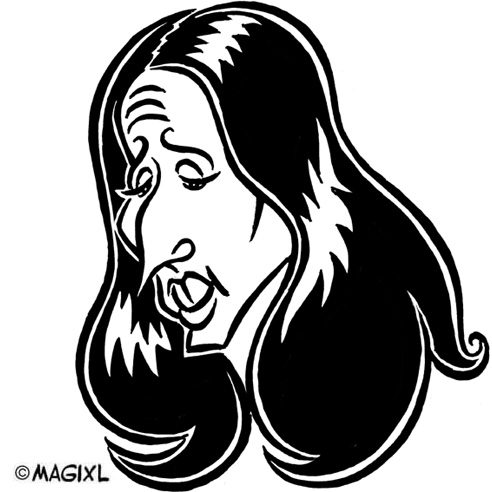 caricature clipart star music oldies 60s 70s 80s.