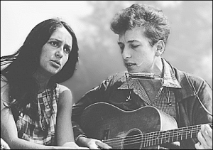 Bob Dylan And Joan Baez 1963 Clip Art Download.