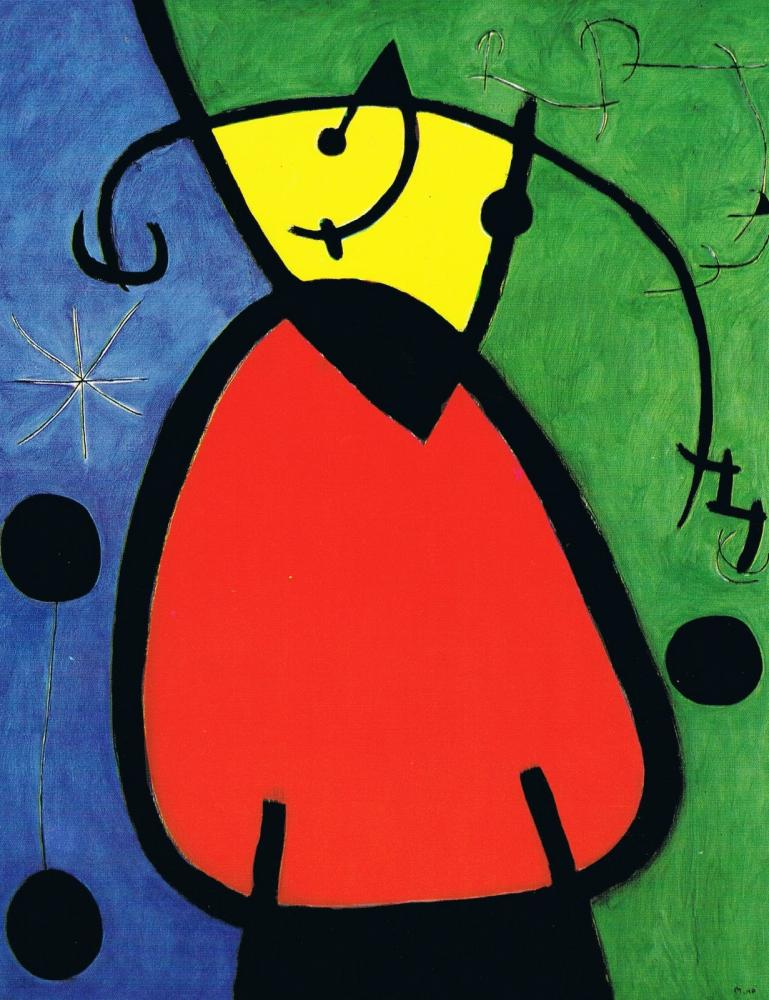 Copy Of First Grade: Joan Miro Abstract People.