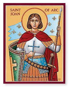 St Joan of Arc.