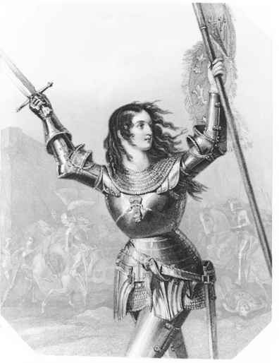 Joan of arc clipart.