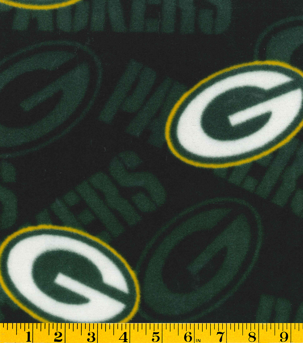 Green Bay Packers Fleece Fabric.