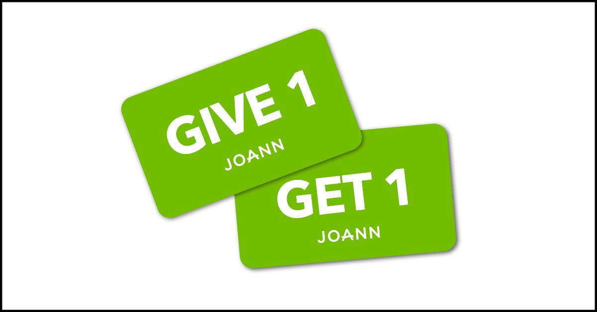 JOANN Fabric & Craft (@JoAnn_Stores).