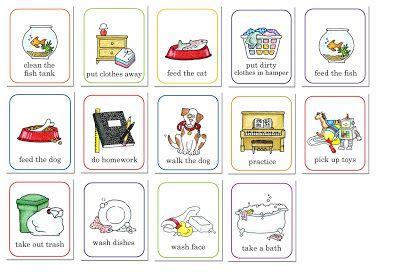 Chore Chart Clip art (and other church clip art).