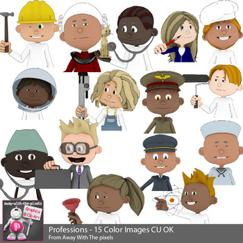 Professions Clip Art For Teacher.