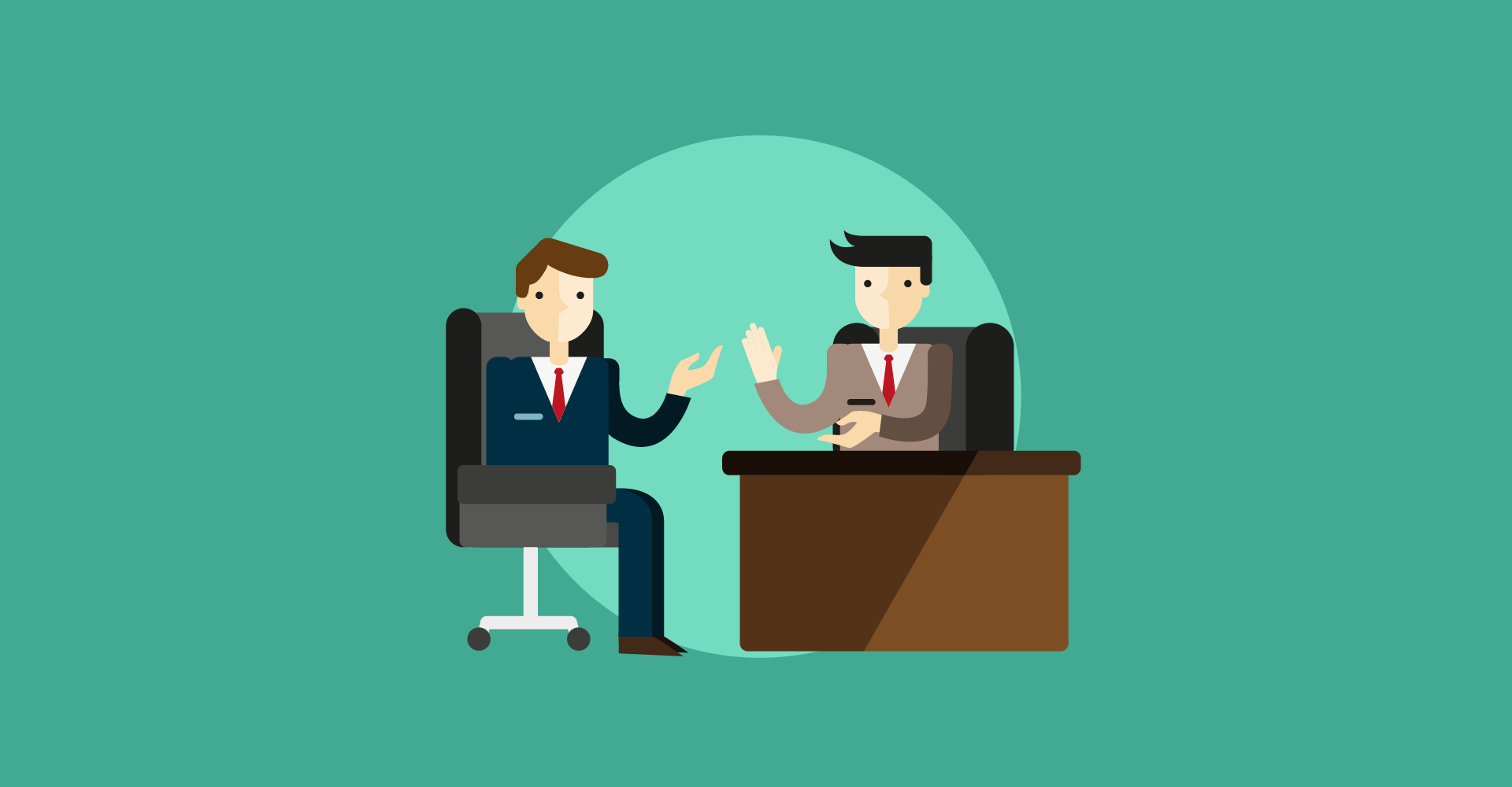Why selling is like a job interview.
