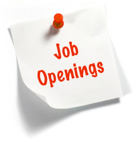 Job Openings Sign Post Clipart.