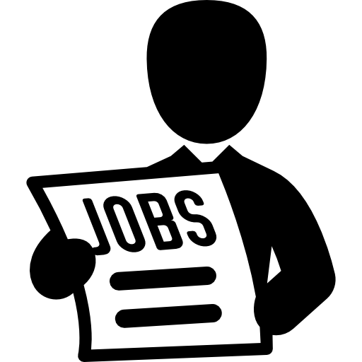 Job PNG Black And White Transparent Job Black And White.PNG Images.