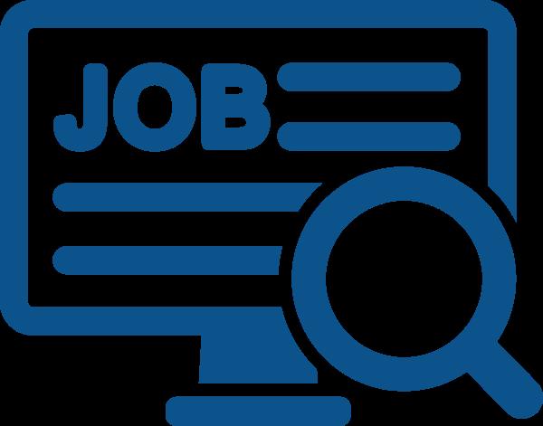 Job Search Blue Svg Clip Art at Clker.com.