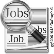Job Search Clip Art.