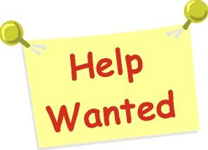 Image result for clipart help wanted sign.