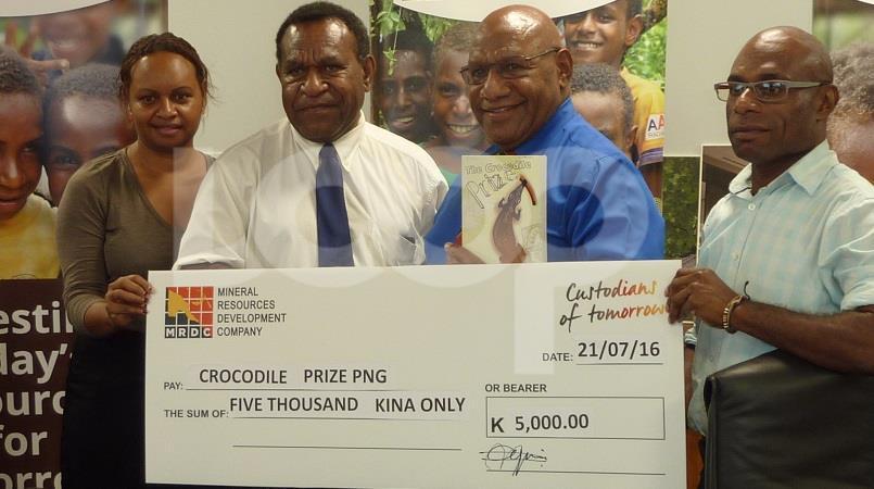 Crocodile Prize Award gets sponsorship boost.