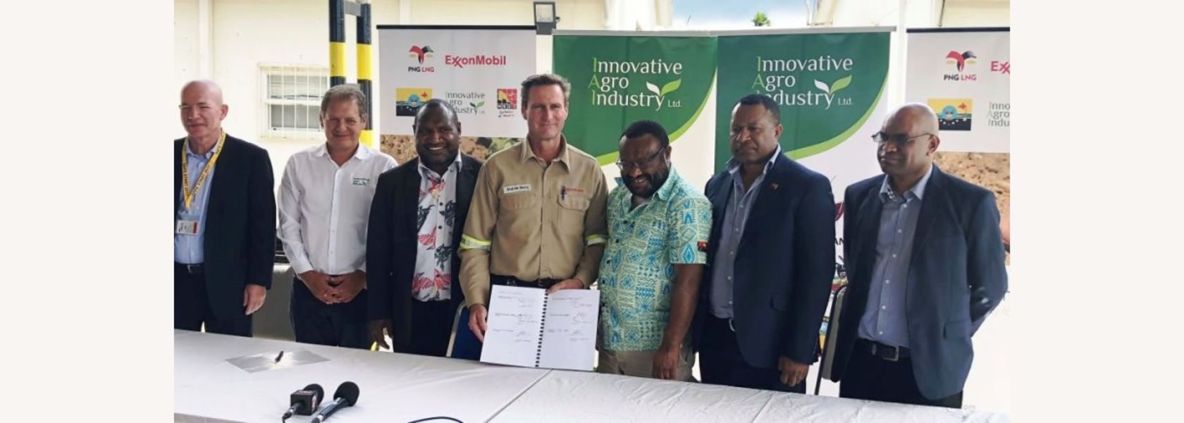 Exxon in agriculture venture for Hela.