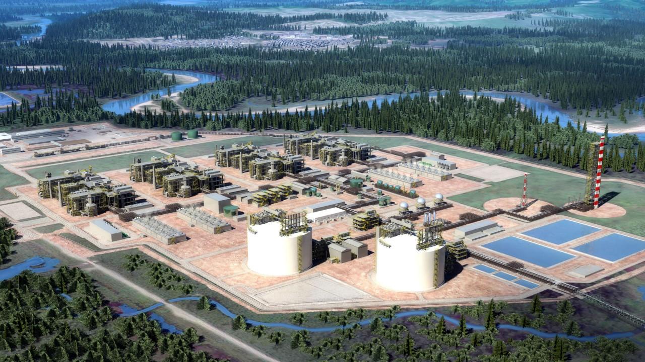 $40 billion LNG Canada project to move forward.