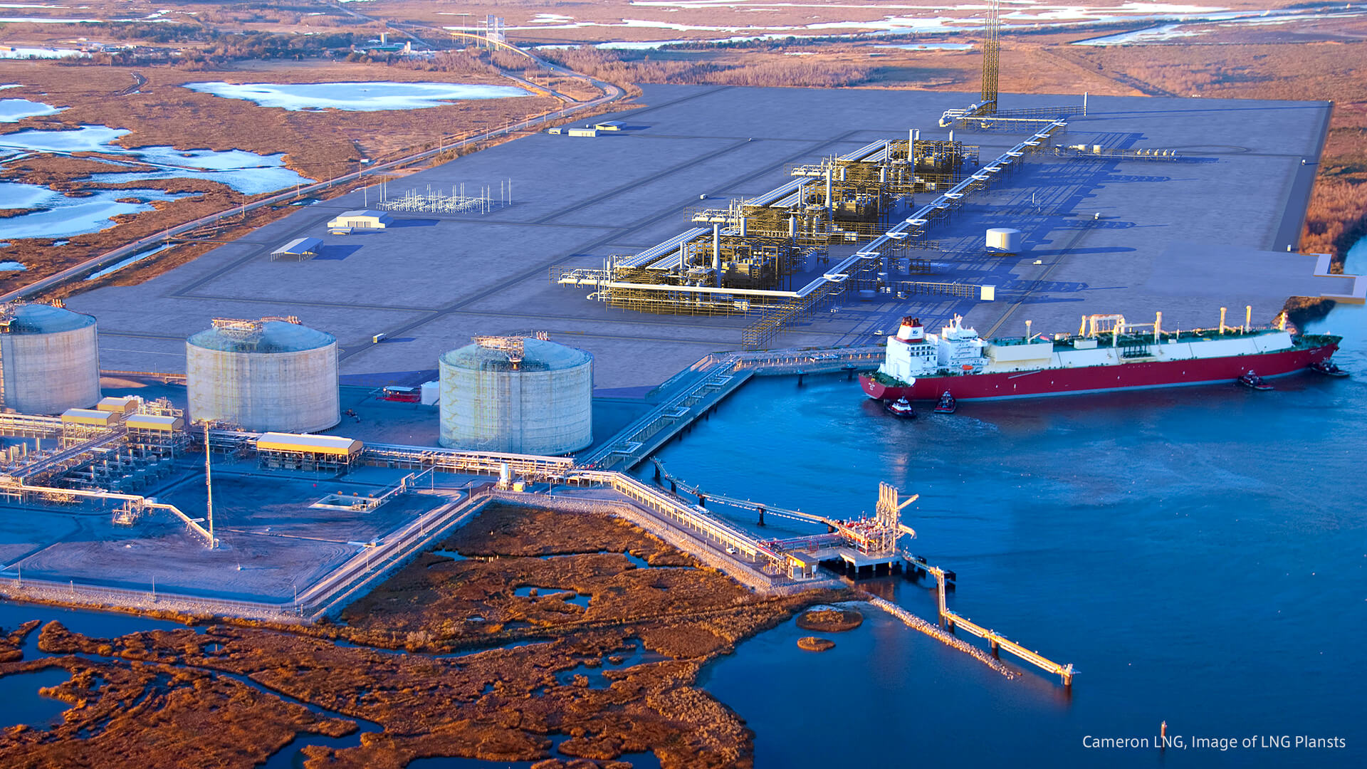 Deal signed between McDermott and Chiyoda for Cameron LNG.