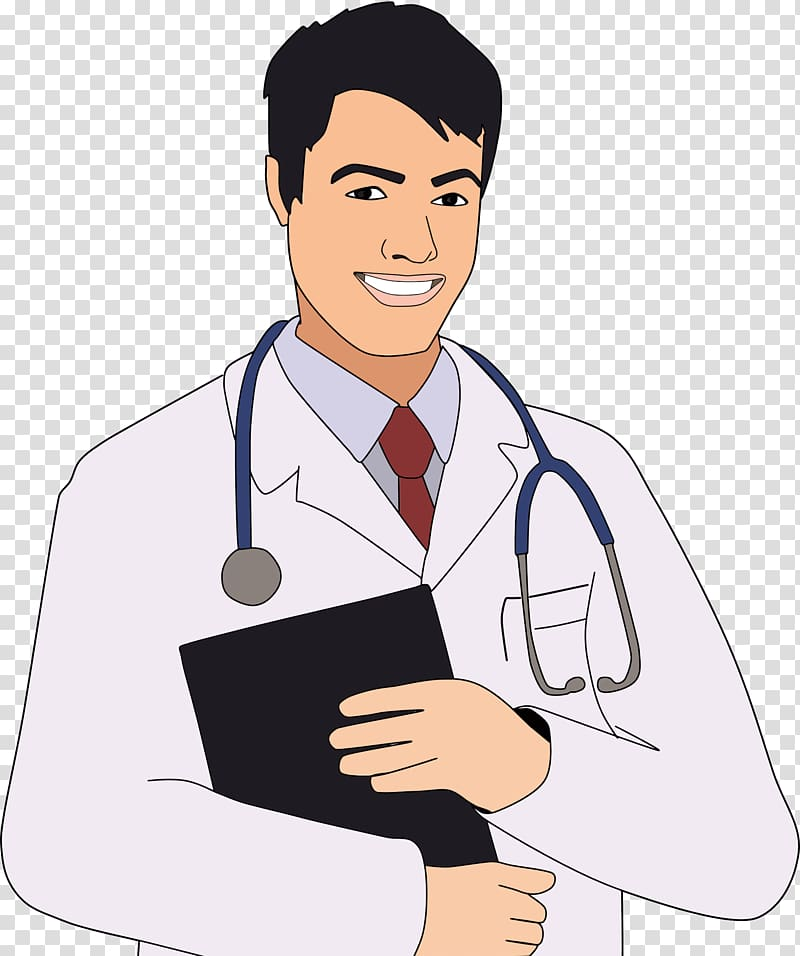 Physician , Doctor transparent background PNG clipart.