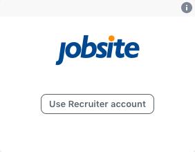 Integrating your Jobsite account.