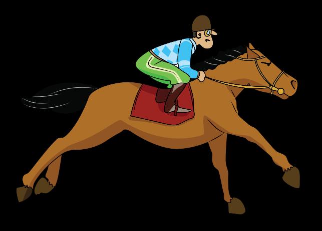 Clipart jockey.