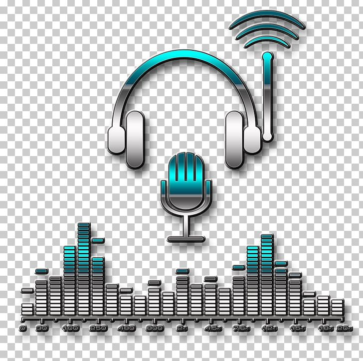 Microphone Disc Jockey Logo Music Phonograph Record PNG.