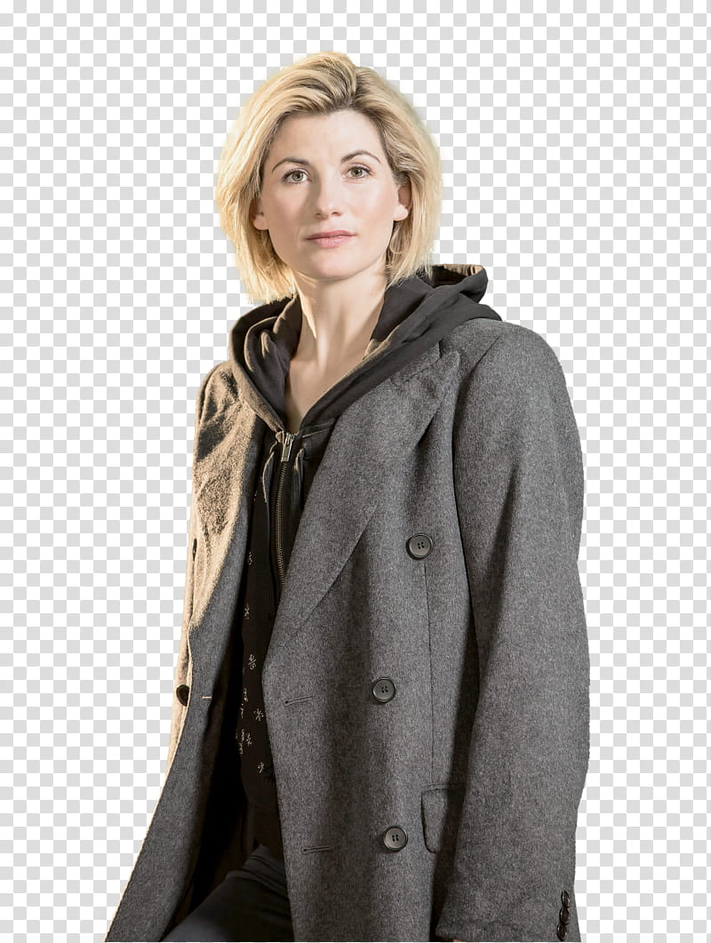 Jodie Whittaker transparent background PNG clipart.