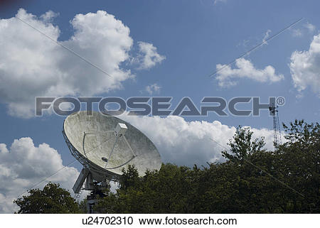 Stock Photography of England, Cheshire, Jodrell Bank, The 42ft.
