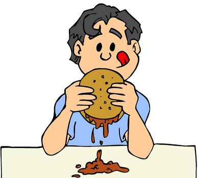 Sloppy Joe Clip Art.