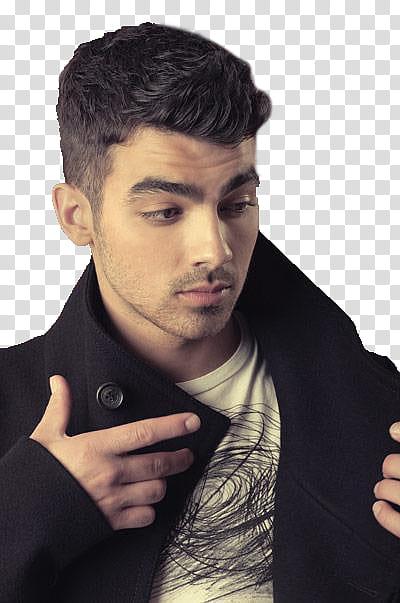 Joe Jonas revista Glamour Mexico transparent background PNG.