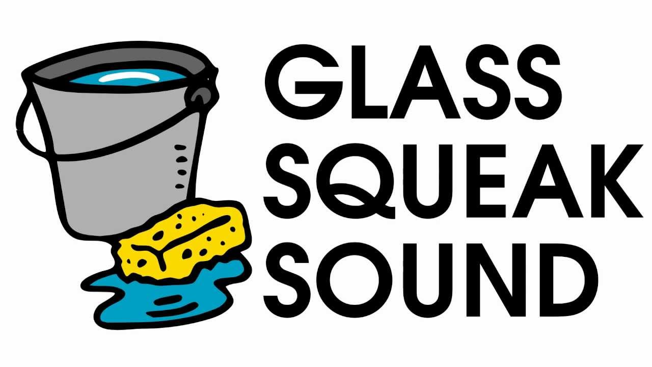 Glass Wipe Squeaks Cleaning Sound Effect [Free High Quality.