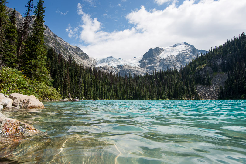 Spontaneous road trip and hike to Joffre Lakes.