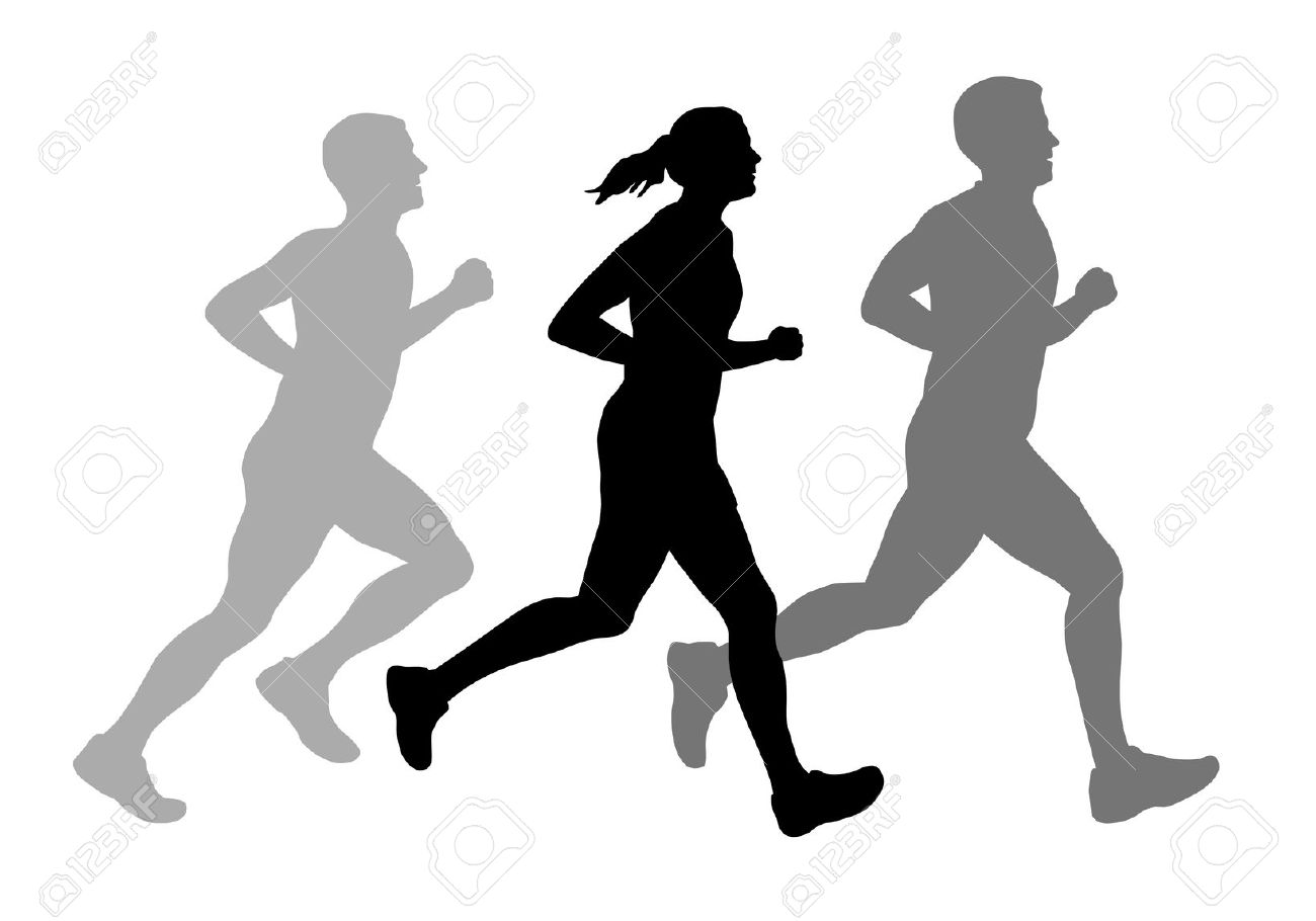 21,088 Runner Silhouette Stock Illustrations, Cliparts And Royalty.