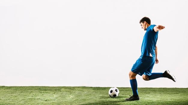 Jogador De Futebol.