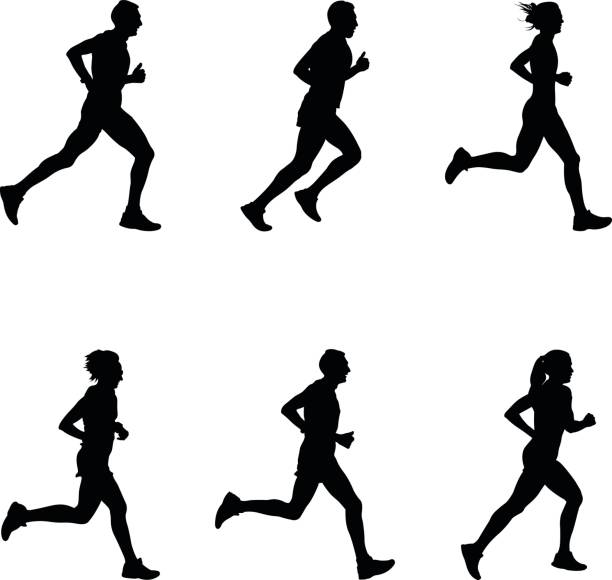 Best Jogging Illustrations, Royalty.