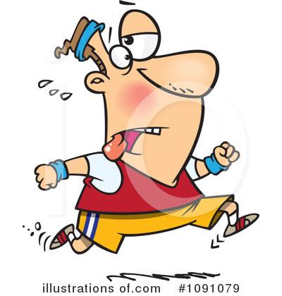 Jogging Clipart #1091079.